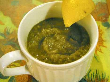 Split Pea Soup in the Microwave on SlowFoodFast