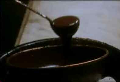 "Chocolate pot from the movie ""Chocolat"""