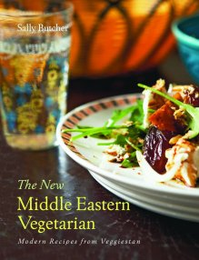 """The New Middle Eastern Vegetarian"" (aka ""Veggiestan"" in the UK) by Sally Butcher, cover photo from amazon.co.uk"