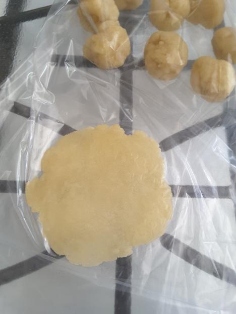 Janna Gur borekita dough with more oil than water